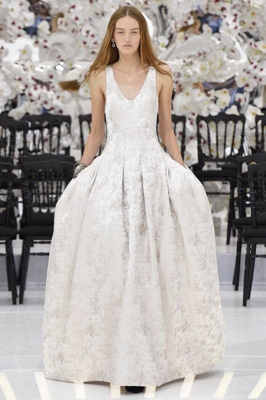 如临仙境 Dior 2014秋冬巴黎高定时装秀